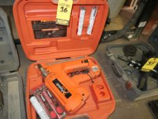 PASLODE BATTERY OPERATED NAILER GUN