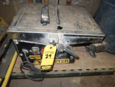 FELKER ELEC TILE SAW