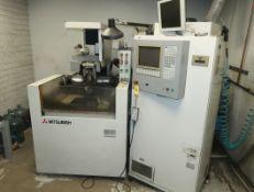 MITSUBISHI ELECTRICSL DISCHARGE MACHINE W/ DRO MDL. FX10 SN. 56E10446