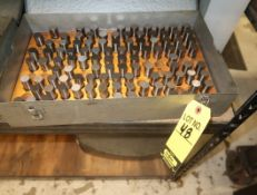 PARTIAL BOX OF M4 626-750 PLUG GAGES