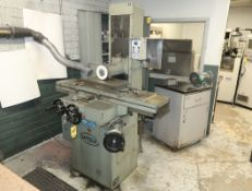 """MITSUI SURFACE GRINDER W/ MINATRON MAGNETIC CHUCK CONTROL 8""""X18"""" MDL. 250MH SN. 33082821"""