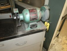 HB 6' DOUBLE ENDED BENCH GRINDER W/ CABINET