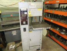 CONTINENTAL ULTICUT VBS14 CONTOUR BAND SAW SN. DY-1182-61