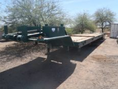 1998 FONTAINE DROPDECK TAIL ROLL 45' TRAILER, VIN. 4LF3Y532XW3507422