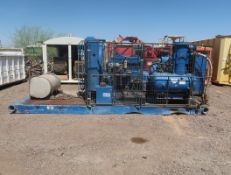 SKID MOUNTED SULLAIR/CAT DRILL COMPRESSOR