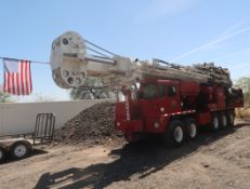 2006 SCHRAMM T-130XD DRILL RIG, SN. J130-0135 MOUNTED ON CRANE CARRIER, VIN. 1CYDGV6846T046987