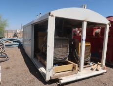 SKID MOUNTED GENERATOR/SWITCH ROOM, TWIN CAT 3306 ENGINES