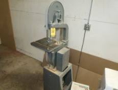 ROCKWELL VERTICAL BAND SAW SN. LJ5247, MDL. 28-200