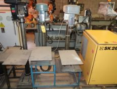 CHICAGO DRILL PRESSES, FLOOR MDL. ON STAND