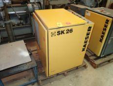 KAESER TC31 REFRIGERATED AIR DRYER SN. 1106