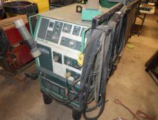 L-TEC WELDING & CUTTING SYSTEMS HELIARC 306 WELDER W/ PEDAL & BERNARD COOLER