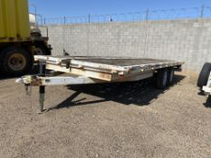 2000 SUN COUNTRY FLATBED TRAILER VIN. 4ZBUE0182YK000565
