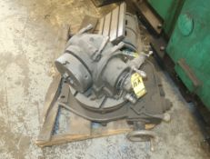 """LOT (2) ROTARY TABLES, 8"""" XY, & 16"""", (1) TRUNION TYPE T-SLOTTED TABLE"""