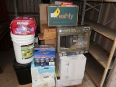 LOT ASST SURVIVAL ITEMS (MEDICAL ITEMS, FREEZE DRIED FOOD, ETC.)