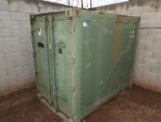 """MILITARY STORAGE CONTAINERS 57""""W X 81""""H X 94""""L"""