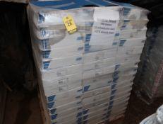 "1 PALLET VORTEX GRINDING WHEELS 12""X1""X5"" 9AM CONVOLUTE WHEELS 189 BOXES, 378 WHEELS"