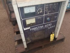 HOBART FABSTER 4030 CONSTANT VOLTAGE DC POWER SOURCE W/ HOBART 2410 WIRE FEEDER 2PCS