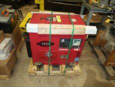 TAHOE TPI 7000 DIESEL GENERATOR 120/240 V, ELECTRIC START