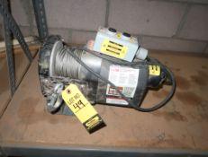 DAYTON 115V ELECTRIC WINCH MDL. 3VJ63