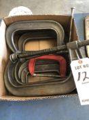 (LOT) MISC CCLAMPS