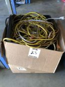 (LOT) MISC EXTENSIONS CORDS, POWER BARS