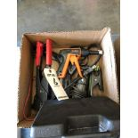 (LOT) DREMELS, DREMEL TOOLING, BATTERY CHARGER, WIRE TIE STRAPPER