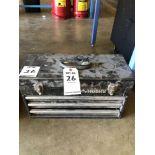 (1) HUSKY 4 DRAWER TOOL BOX
