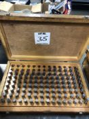 GAGE MAKERS .501-.625 PIN GAGE SET