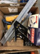 (LOT) MISC INSPECTION- METAL MARKING KIT, INFRARED THERMOMETER, NUMBER AND LETTER PUNCHES,