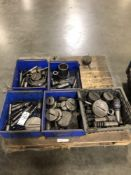 (LOT) PALLET OF MISC TURRET PUNCH TOOLING