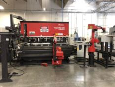 (1) 2000 Amada Astro 100 MH/FabIII-1253 CNC Press Brake With Robot Loader And Bender- model FBDIII