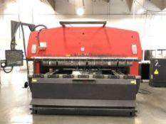"(1) 1994 Amada RG-100 CNC Press Brake- 110 ton cap, 118.2"" bed length, 122.1"" max bending length,"