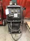(1) MILLER MILLERMATIC 350P WIRE FEED WELDER- S/N- MD231320N