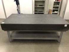 "(1) 48""x96"" GRANITE SURFACE PLATE WITH STAND"