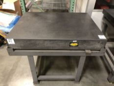 "(1) ACE 36""x48"" GRANITE SURFACE PLATE WITH STAND"