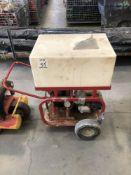 (1) (1) PRESSURE TEST PUMP WITH HONDA GX 160 MOTOR