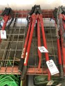 (2) REED MANUAL PIPE CUTTERS