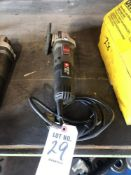(1) PORTER CABLE RIGHT ANGLE GRINDER