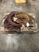 (1) MISC EXTENSION CORDS AND PNEUMATIC AIR HOSES
