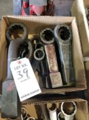 (LOT) MISC KNOCKOFF WRENCHES