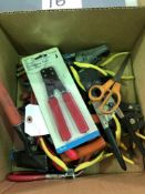 (LOT) CRIMPERS, WIRE CUTTERS
