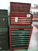 (1) CRAFTSMAN 18 DRAWER TOOL BOX