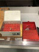 (3) .011-.060 PIN GAGE SETS