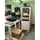 (1) ELITE 1 YAG LASER SYSTEM- MARK CENTURY ONE CONTROL, REFRIGERATED RECIRCULATOR, X/Y TABLE, AND