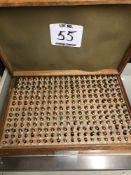 (1) .251-.500 PIN GAGE SET