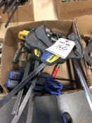 (LOT) MISC BAR CLAMPS