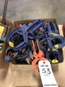 (LOT) MISC QUICK GRIP PINCH CLAMPS