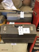 (3) PORTABLE TOOL BOXES