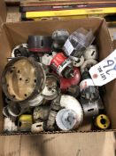 (LOT) MISC HOLE SAWS