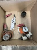 LOT OF MISC HOLE SAWS